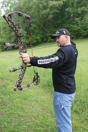 archery proper stance