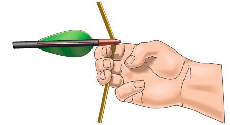 nocking arrow