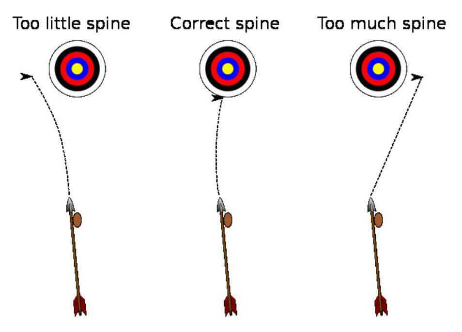 what is an arrow spine